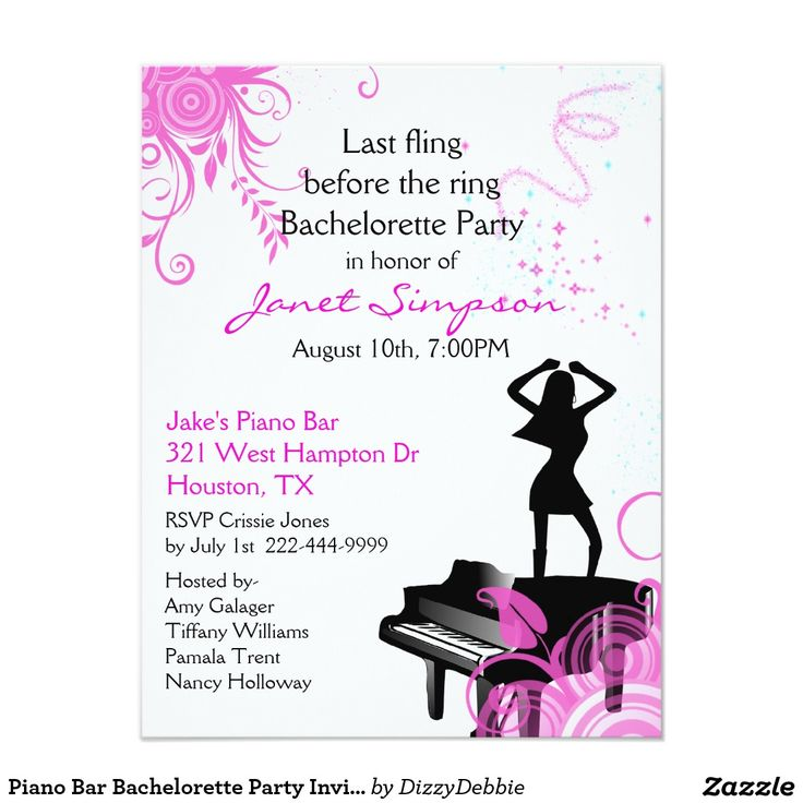 210 best Bachelorette Party Invitations images on Pinterest ...