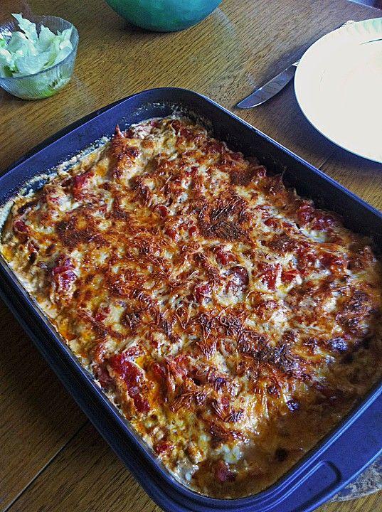 Chefkoch.de Rezept: Schwäbische Lasagne