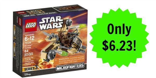 LEGO Star Wars Wookiee Gunship Only $6.23!