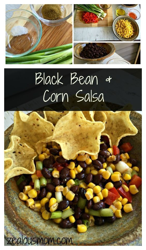 This recipe for black bean and corn salsa is the easiest, yummiest recipe you will find. It's quick and inexpensive, and everyone in the family will LOVE it. Great for anytime of year. Enjoy! @zealousmom.com