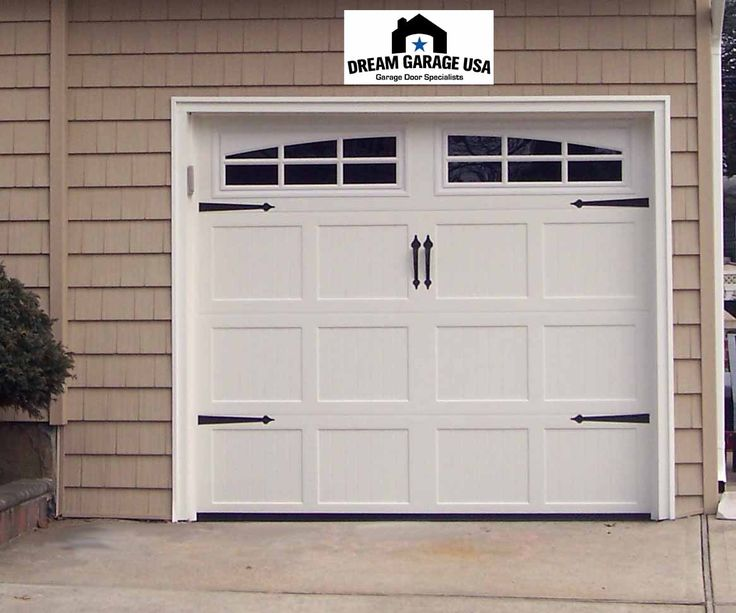 16 best garage facelift ideas images on pinterest for Build carriage garage doors