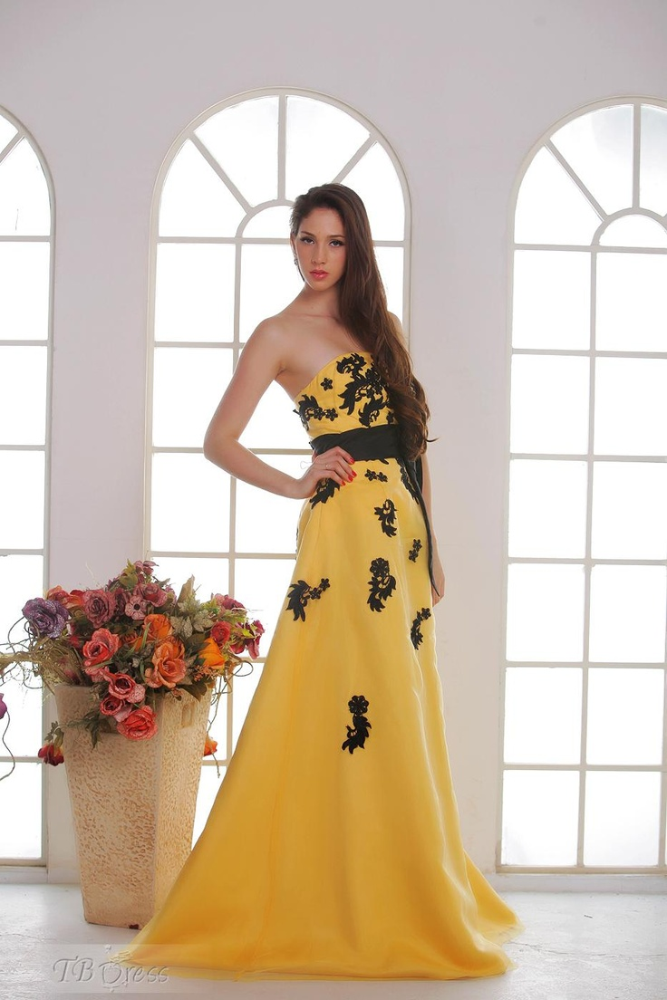 Charming A-line Strapless Floor-length Evening/Prom Dresses. Get thrilling discounts up to 80% Off at TBDress using Coupon and Promo Codes.