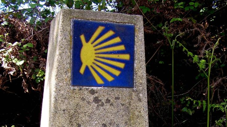 Camino symbol will guide you along the way. Camino Portugues: Lisbon - Santiago.    http://www.macsadventure.com/holiday-852/camino-portugues-full-walk-lisbon-to-santiago