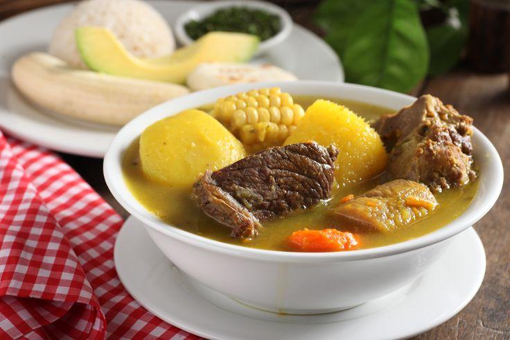 Sancocho típico montañero. Puro sabor paisa, pura tradición http://www.elrancherito.com.co/