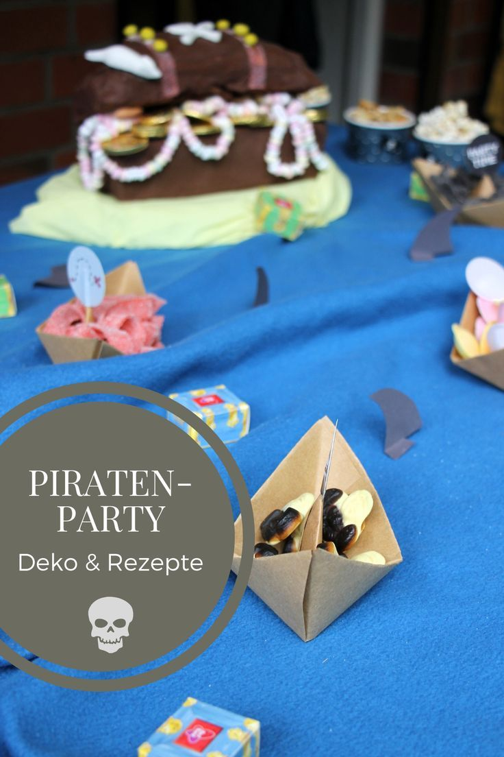 Piratenparty Deko Piratenkuchen Rezept Und Mehr Diy Blogger