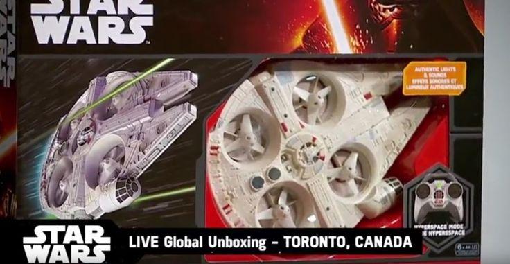 Disney mostra drone da Millenium Falcon e X-Wing com controle-remoto - TecMundo