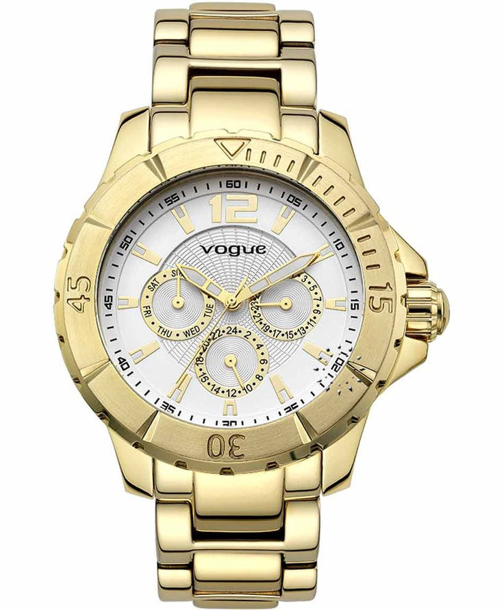 VOGUE City Gold Stainless Steel Bracelet  Τιμή: 225€  Αγοράστε το εδώ: http://www.oroloi.gr/product_info.php?products_id=31490