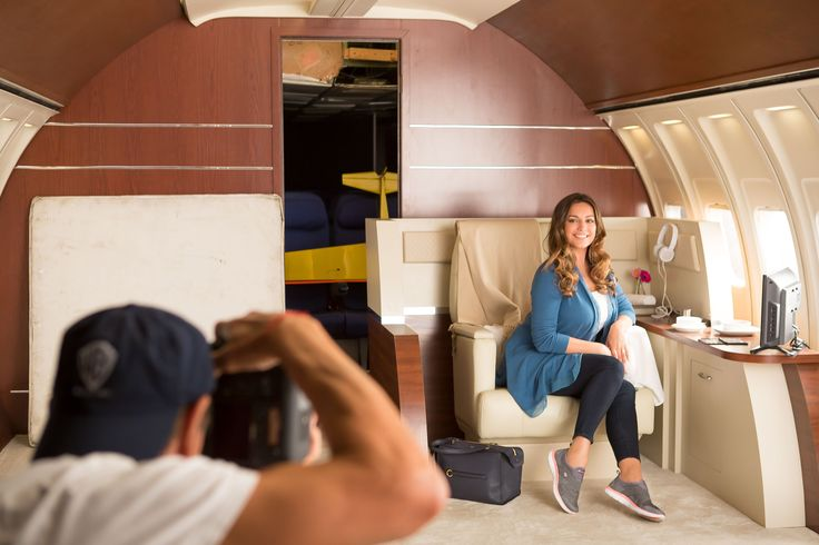 Take off in comfort with Kelly Brook and Skechers Wide Fit!