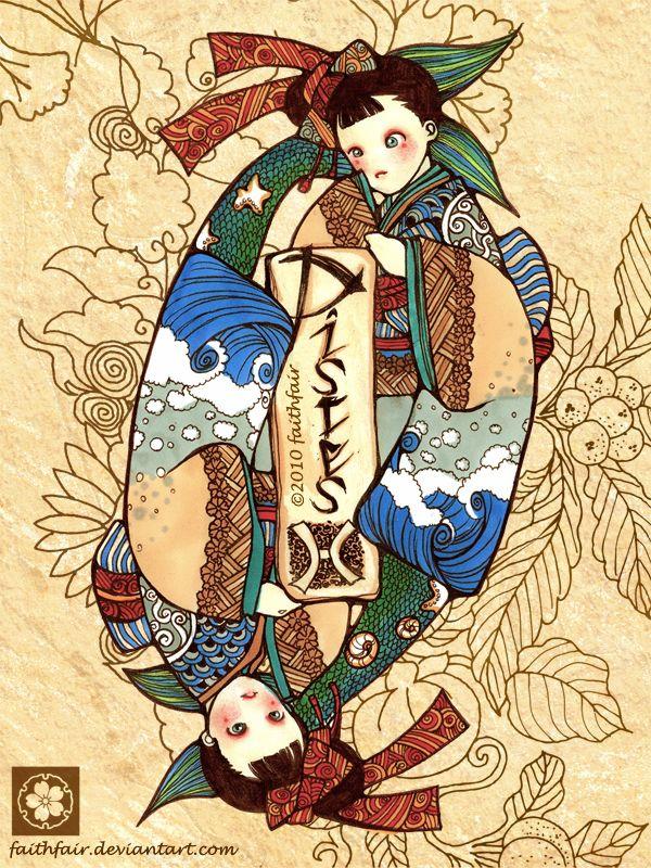 японские картинки зодиака картинки