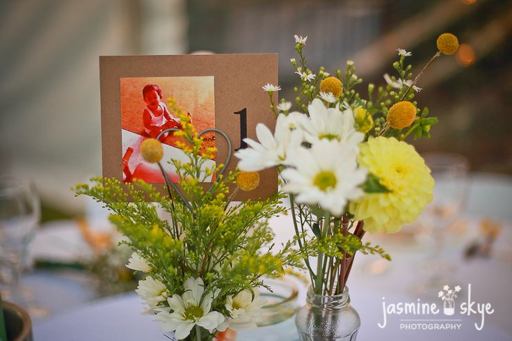 personalised wedding table numbers. perth weddings.