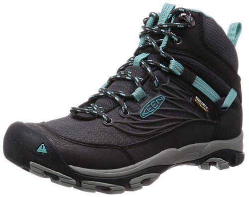 KEEN SALTZMAN Damen Schuhe Wanderschuhe Trekking Outdoor Hiking Blau Gr 36 37
