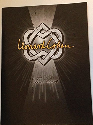 Leonard Cohen 2009 U.S. Concert tour program  Official Leonard Cohen 2009 U.S. Fall Tour Program  Great for display and gift  Features high quality images of Leonard Cohen and his band