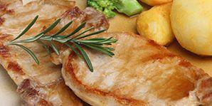 Herbed Citrus Pork Chop   Canadian Diabetes Association