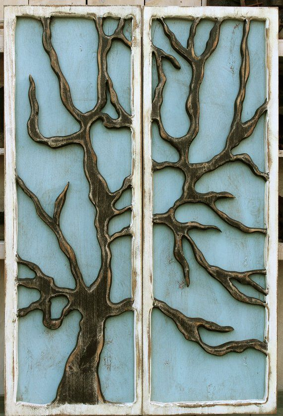 Tree Rustic Home Decor Wall Art Wood Wooden Tree Of Life