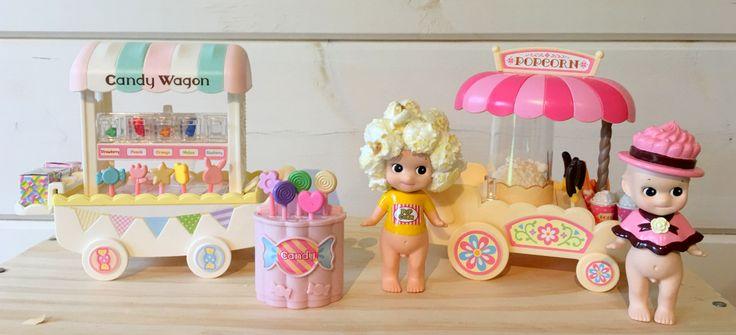 sonny angel - sylvanian families: Candy wagon / popcorn  Madeinmelody.com