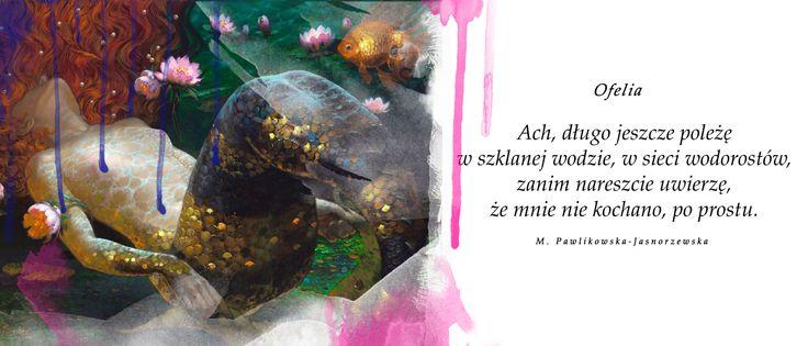 Maria Pawlikowska-Jasnorzewska, Wybór wierszy i szkiców poetyckich, Warszawa 2007 #image #tumblr #inspiration