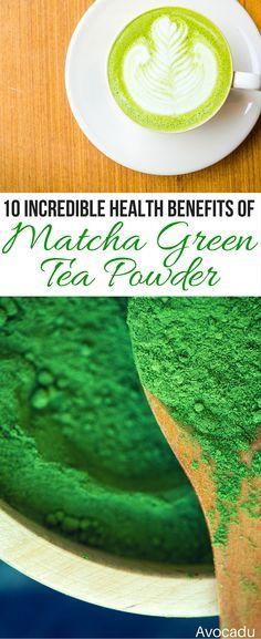 This healthy drink packs a powerful punch of antioxidants and can also help you lose weight! It's also great for doing a detox and provides hours of natural energy! http://avocadu.com/10-incredible-health-benefits-of-matcha-green-tea-powder/