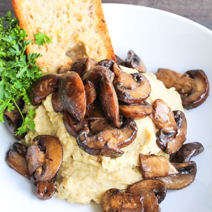 This recipe is AMAZING. It is honestly one of my all time favorites.  Truffle oil is a small investment for your pantry.  A little goes along way  and used in small amounts, so don't be scared off by the price. The bottle  will last a long time.   Truffled Mushrooms over White Whipped Beans     * 16oz of mushrooms, you can use whatever mix or variety you prefer,       thickly sliced, cut in half, or quartered, so they are all about the       same size.     * 2 cups of cooked cannellini beans…
