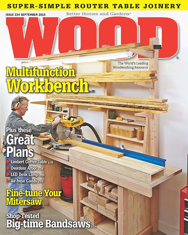 Wood Issue 234 September 2015 Woodworking Plan From Wood