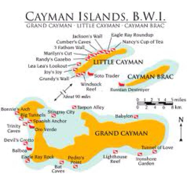 Best The Triple R Honeymoon Images On Pinterest Cayman - Cayman islands cities map