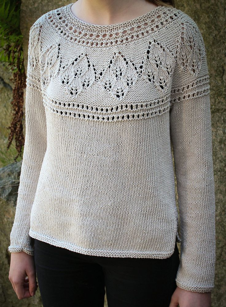 Lace Knitting Patterns In The Round : 280 best Sweater Knitting Patterns images on Pinterest Sweater knitting pat...