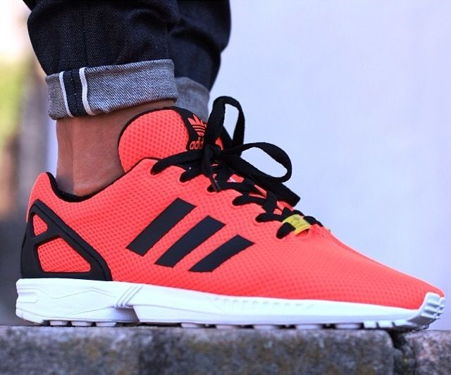 Adidas Zx Flux Bright Orange