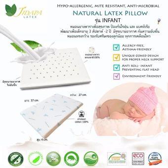 รีบเป็นเจ้าของ  JIDAPA LATEX หมอนยางพาราธรรมชาติ 100%, Infant model,สำหรับเด็กแรกเกิด, ป้องกันไรฝุ่นและแบคทีเรีย ปลอกหมอนผ้า cotton100% ลายการ์ตูน  ราคาเพียง  1,150 บาท  เท่านั้น คุณสมบัติ มีดังนี้ Natural latex pillow,100% cotton pillow case Hypo-allergenic, mite resistant, anti-microbial, renewable, ecofriendly Petite latex version for new born baby from 1 week – 2years