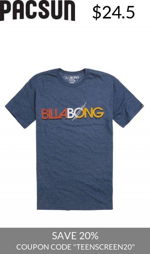 Save With Us! - Mens Billabong Tee - Billabong Thruster T-Shirt