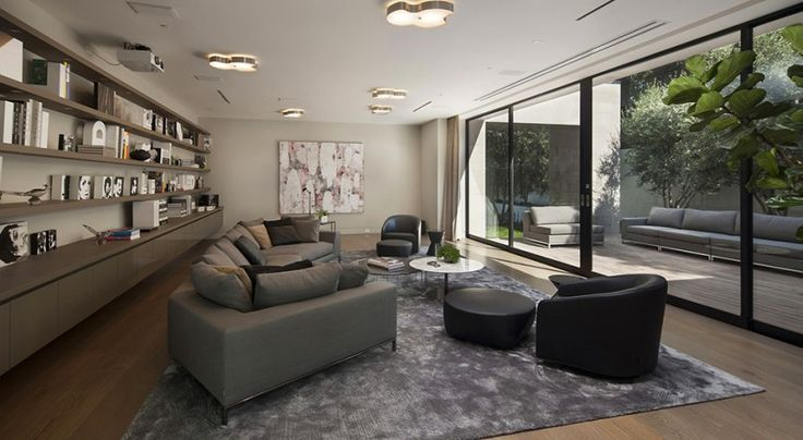 Architecture Wonderful Modern Living Room With Wonderful Sofa