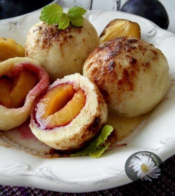 Kulinarne Szaleństwa Margarytki: Knedle ze śliwkami