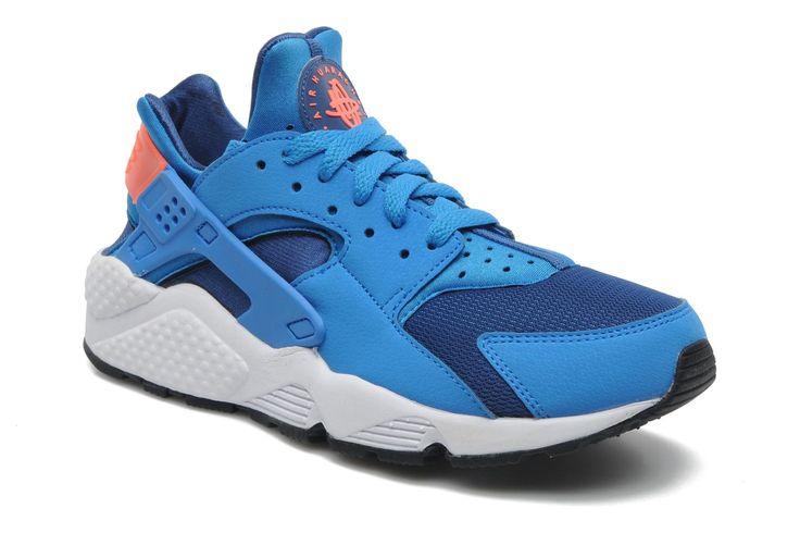 Nike Air Huarache (Bleu) - Baskets chez Sarenza (199013)