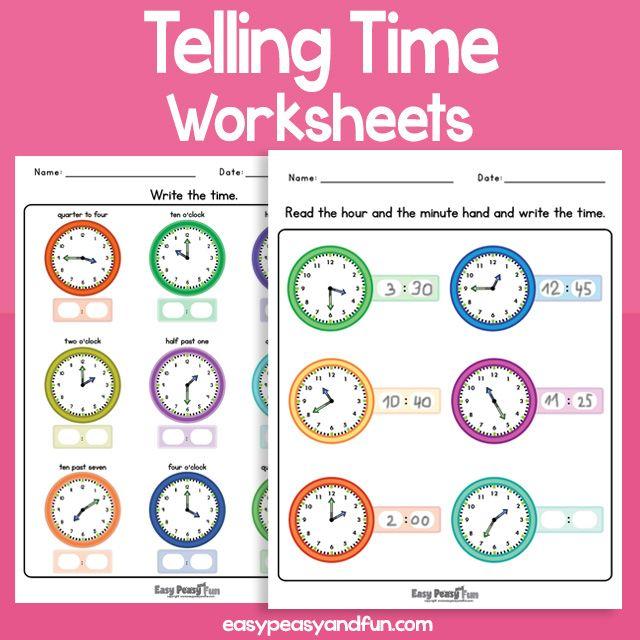 Telling Time Worksheets Time Worksheets Telling Time Worksheets Reading Comprehension Worksheets
