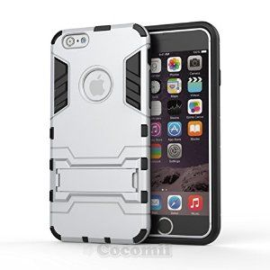 BEST iPhone 6S Plus / iPhone 6 Plus Case, Cocomii® [HEAVY DUTY] Iron Man Case *NEW* [Ultra War Armor] Premium Belt Clip Holster Kickstand Card Holder Bumper Case - Full-body Rugged Hybrid Protective Cover Bumper Case for Apple iPhone 6S Plus / iPhone 6 Plus • Unique, rugged design with style and the utmost protection • Raised edge around the front lip for face-down protection • Extreme protection from drops and scratches • Unique, multi-function card holder holster • 5% Off Coupon Code…