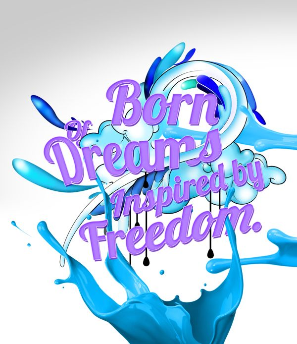 some of my work  http://www.behance.net/gallery/Born-of-Dreams-Inspired-by-freedom/8679487
