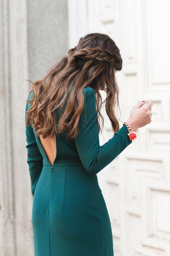 Más notable peinados para boda de noche Colección de estilo de color de pelo - Los peinados que triunfan entre las invitadas del 2018 ...
