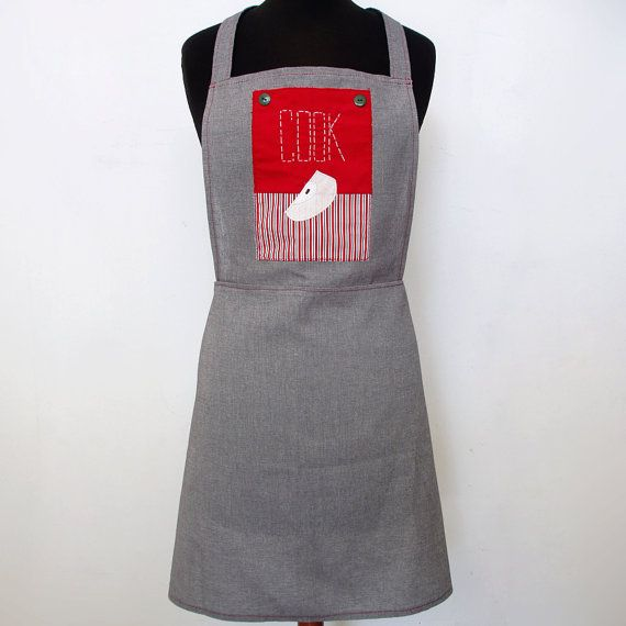 Long apple apron