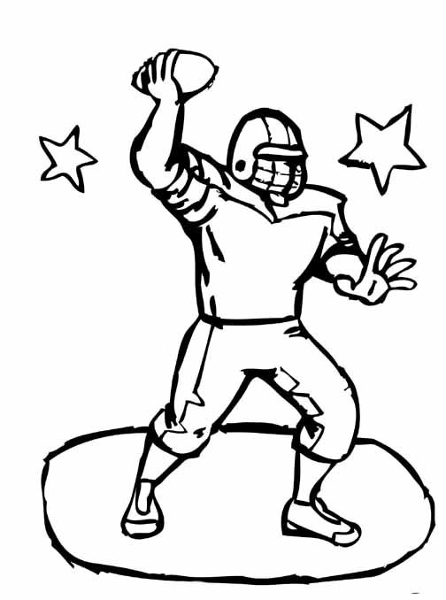 16 best images about card club on pinterest football for College football coloring pages