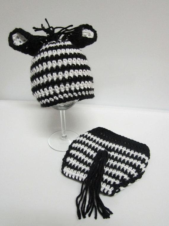Free Crochet Pattern Zebra Hat : 187 best images about crochet diaper covers on Pinterest ...