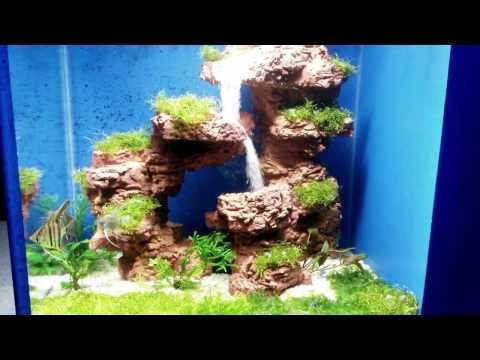 Best 25 aquarium sand ideas on pinterest aquascaping for Aquarium waterfall decoration