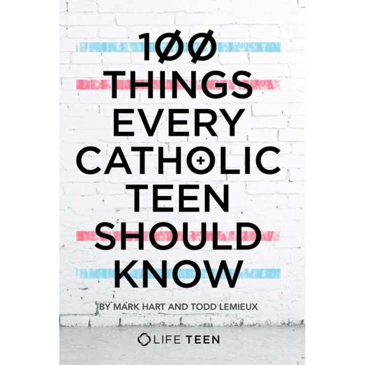 52 best confirmation gift ideas for boys images on pinterest 100 things every catholic teen should know book confirmation giftideas negle Choice Image