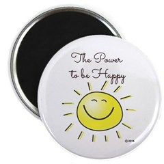 The Power To Be Happy Magnets