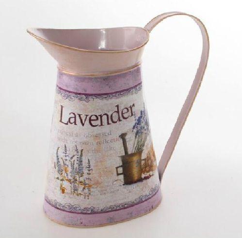 Jarrón o lechera decoración vintage: