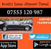 Southend Taxi To Heathrow Airport £110