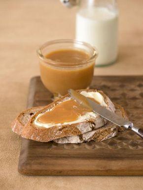 Süsse Milchcreme mit Karamellgeschmack und Rum begeistert als Brotaufstrich.