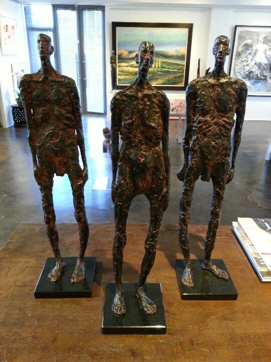 "Grace da Costa - "" The Sentinels"" available at art@arteye.co.za"