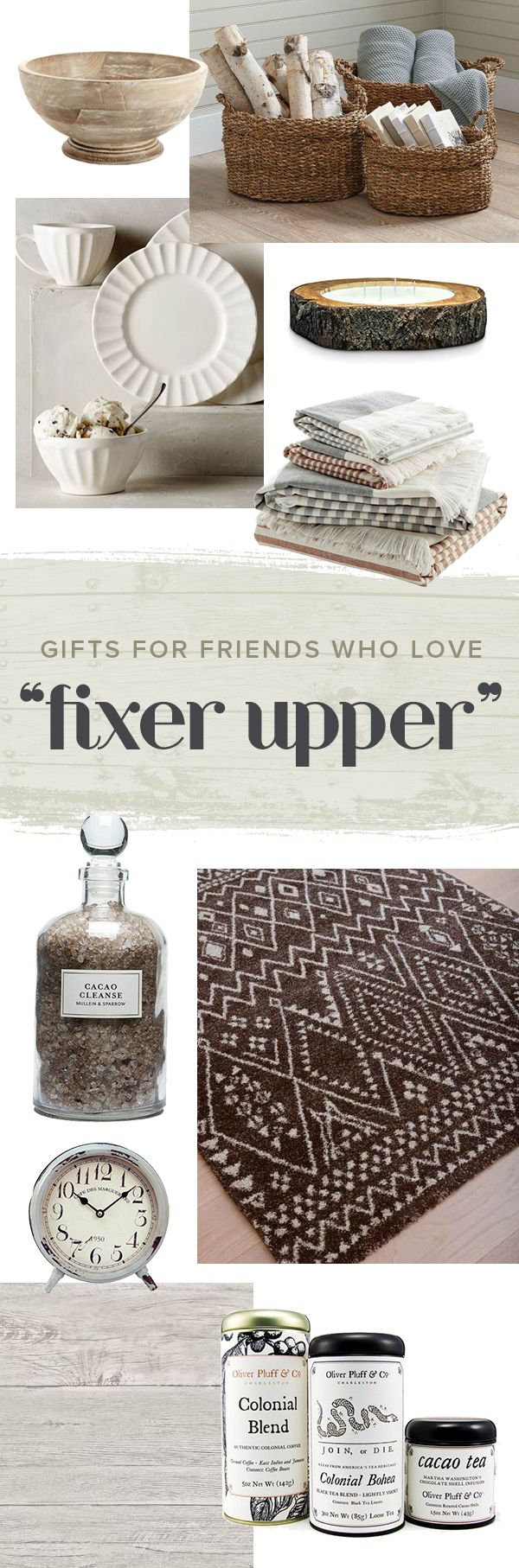 the 27 best holiday gifts for your friends who love fixer upper christmas shopping listhome decor stylesshopping - Home Decorating Styles List