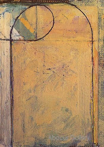 Richard Diebenkorn / Cigar Box lid No. 6 1979