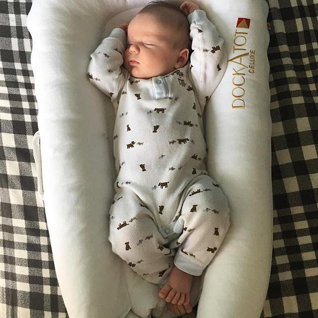 Babies sleep soundly in their @DockATot baby lounger. DockATot is the best co-sleeper, portable baby bed and infant lounger around. Designed in Sweden with the utmost care and love for babies 0-3 years old. Visit DockATot.com for more information on this new mom essential.