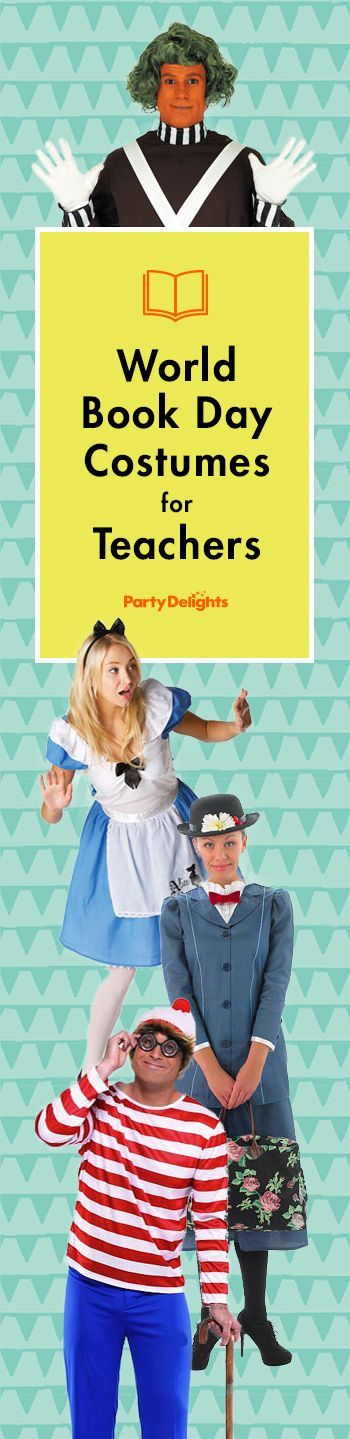 Are you ready for World Book Day? Check out our most popular World Book Day costume ideas for teachers.