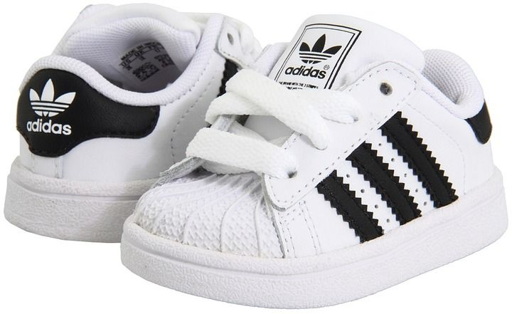 adidas Kids - Superstar 2 Core (Infant/Toddler) (Running White/Black) - Footwear on shopstyle.com